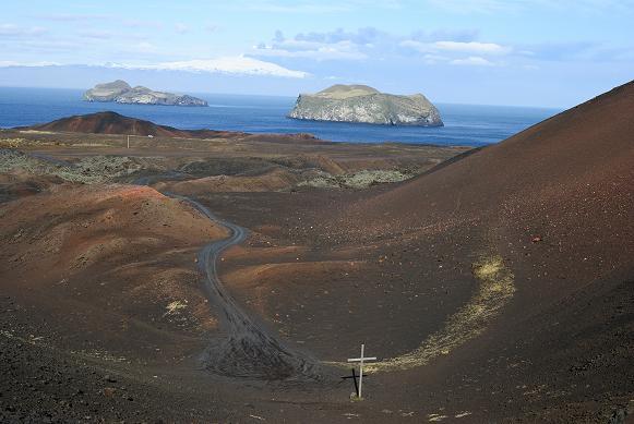 Blick von einem Vulkan auf einen Vulkan ;-)