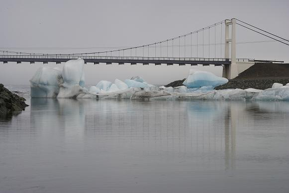 Brücke am Jökursarlon