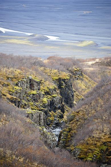 Auf dem Weg zum Svartifoss, Skaftafell NP