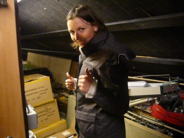 Anne-Marie kurz vor der Rettung