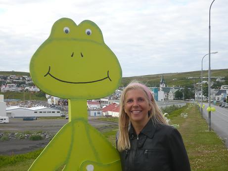 Ich und der Frosch