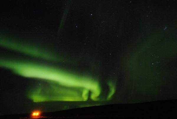 Aurora Borealis am 12. Oktober (die letzte bisher, die ich gesehen habe)