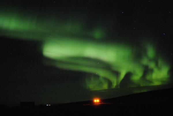 Aurora Borealis 12. Oktober