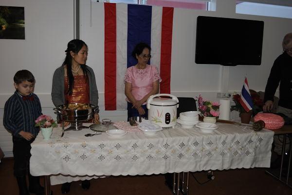 Der Thailändische Stand (leckeres Curry)