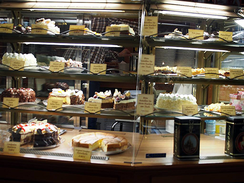 Kuchen im Coselpalais